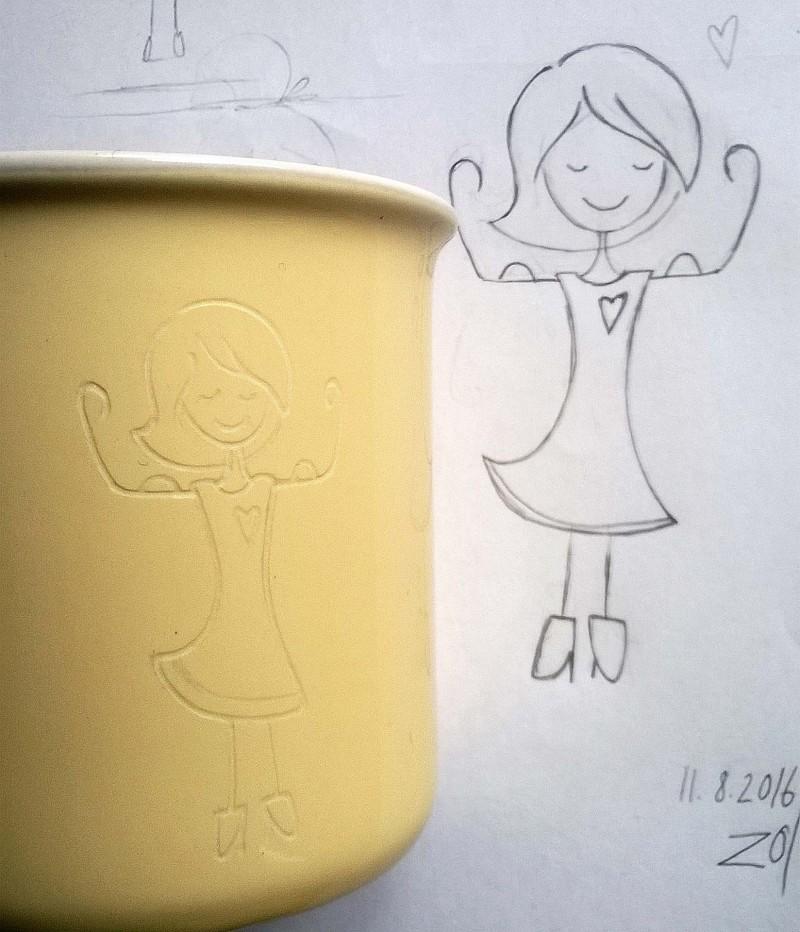 Gravur auf Glas und Keramik