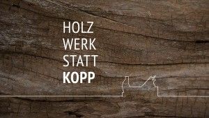 Corporate Design Holzwerkstatt Kopp