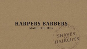 Corporate Design Harpers Barbers