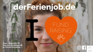 Infobroschüre »I love Fundraising«
