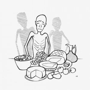 Feuerprobe: am gedeckten Tisch verhungern